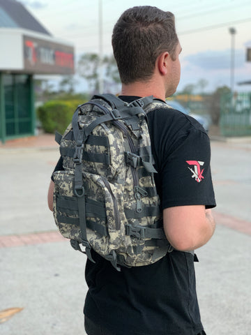 Medium Military Style Backpack (Digi Cam)