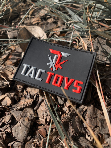 TacToys 3D Rubber Velcro Patch - (Vests, Shirts, Helmets)