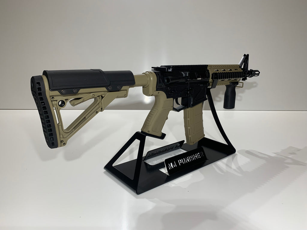 Display Stand For M4 Punisher Tactoys
