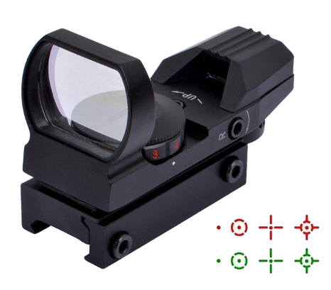 Hologram Optic Sight for Gel Blaster
