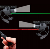 Tactical LED Torch & Laser for Gel Blaster
