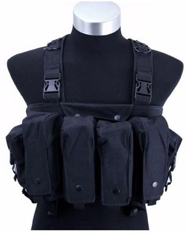 Tactical Chest Rig (Black)