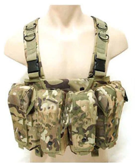 Tactical Chest Rig (Camo)