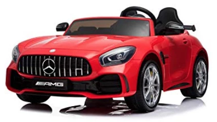 Mercedes AMG GTR - Ride on Car Kids Toy *Licensed & Genuine* (Red)