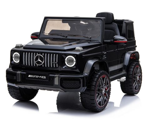 Mercedes G63 AMG - Ride on Car Kids Toy *Licensed & Genuine* (Black)