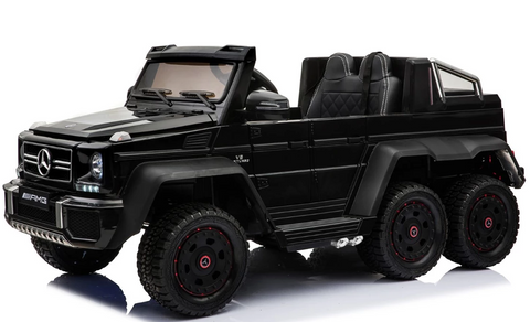 6x6 Mercedes G63 AMG - Ride on Car Kids Toy *Licensed & Genuine* (Black)