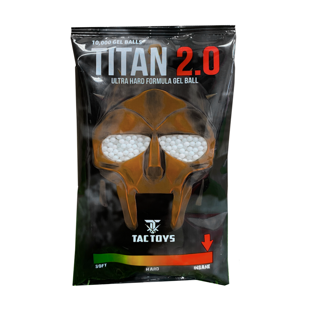 Titan 2.0 - 10,000 Gel Balls (EXTREME HARDNESS)