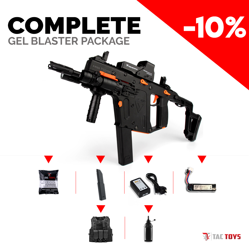 KRISS VECTOR V2 - Gel Blaster (COMPLETE PACK)