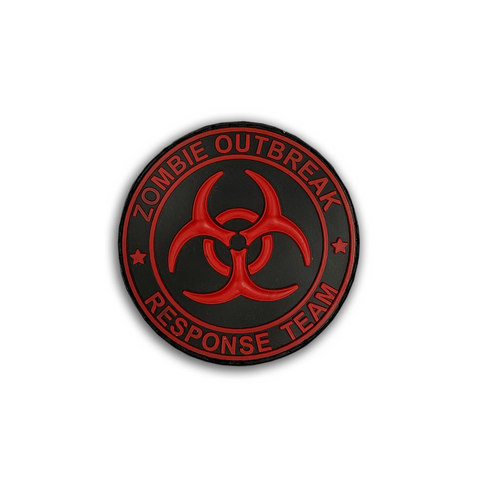 Zombie Response Team - 3D Rubber Velcro Patch