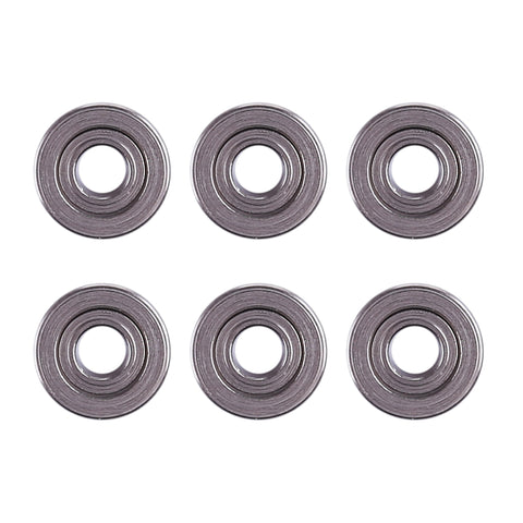 6Pcs 7mm Bearings - M4A1 V8, V9, Scar V2 & SAW M249