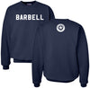 Barbell Cotton Heavyweight Sweatshirt (Navy)