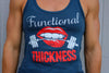 Functional Thickness Women's Racerback (Red, White & Blue!)