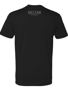 Go Far Fitness Crew Neck Tee (Black)