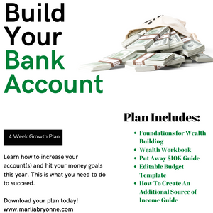 Build Your Bank Account