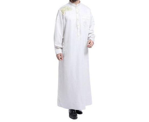 Elegant Jubba/Thobe with Embroidery -  Selsabeel