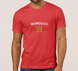 Royal Standard of Moroccan Flag T Shirt -  Selsabeel