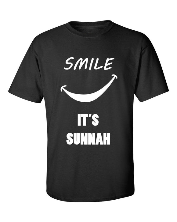 Smile its Sunnah T Shirt -  Selsabeel