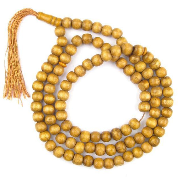 Tasbih or Prayer Beads with Wooden Beads (10 Pieces) -  Selsabeel