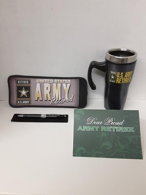 GIFT BOX SET Army Retired