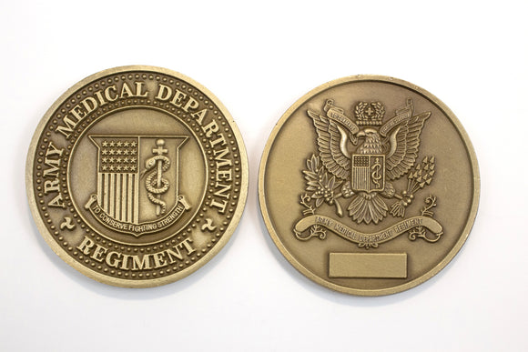 Regimental Brass Coin : SKU : 110