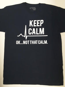 Keep Calm Tshirt : SKU : 1125 - 1153