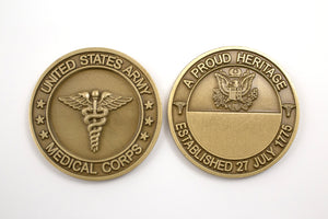 Medical Brass Coin : SKU : 112