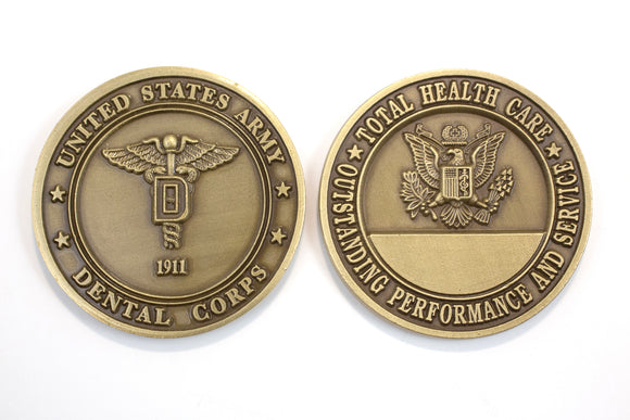Dental Brass Coin
