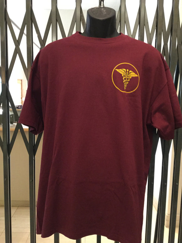 Enlisted Maroon Tshirts Sz XL