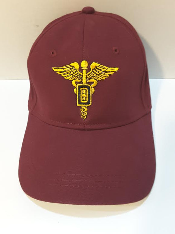 Dental Corps Maroon Hat