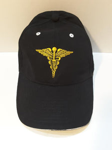Veterinarian Corps Black Hat