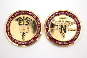Nurse 100th Anniversary Coin : SKU : 122