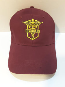 Civilian Maroon Hat
