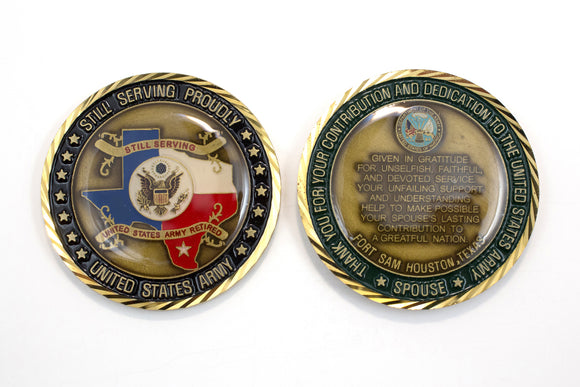 Spouse Retired Coin : SKU : 123
