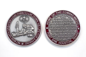 Combat Medic Prayer Coin : SKU : 130