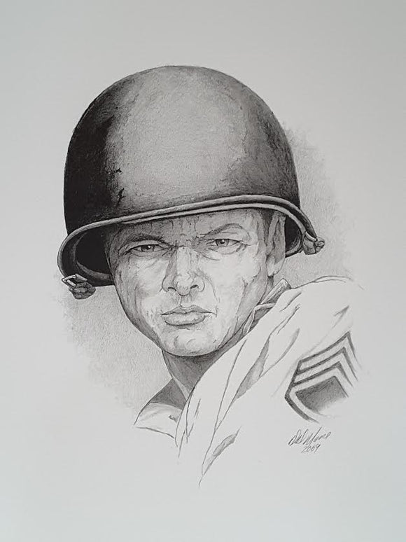 Moore Army Soldier SSG 11x18