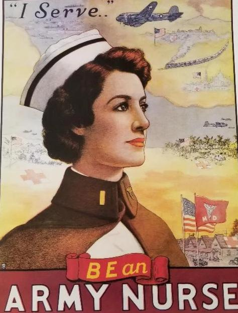 Be An Army Nurse 18x24 : SKU : 1327
