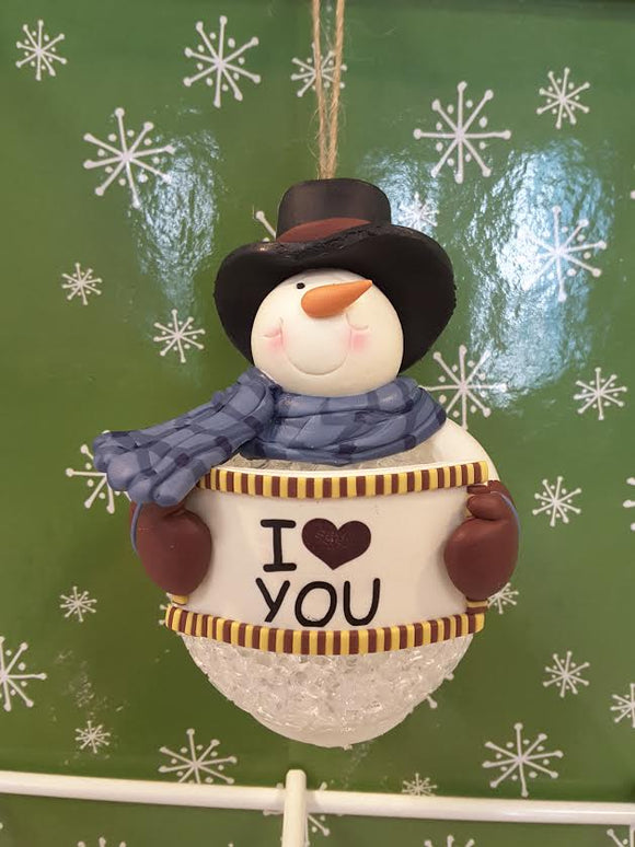 I love you Snowman