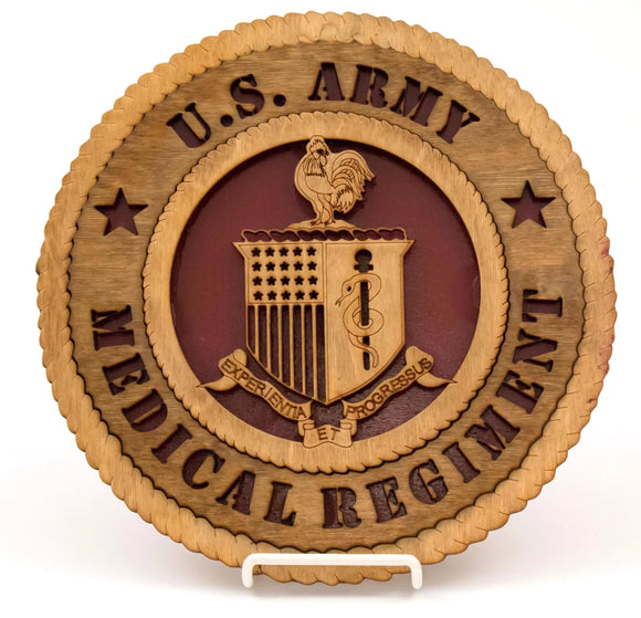 3D Wall Plaque New Regimental : SKU : 1481