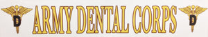 Army Dental Bumper Sticker
