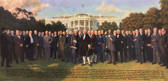 Poster The Presidents 24X36