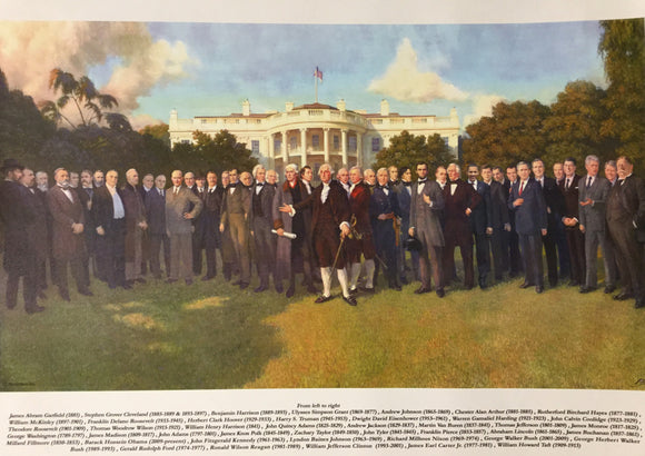Poster The Presidents 12x24
