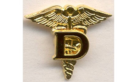 Tie Tac  Dental Corps : SKU : 1571