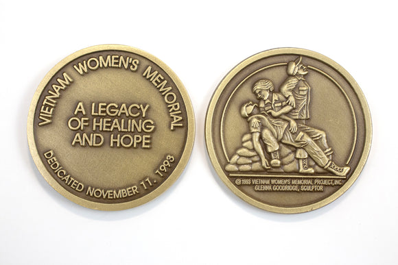 Vietnam Womens Memorial Coin : SKU : 158
