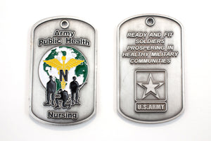 Army Public Health Nursing Coin : SKU : 160