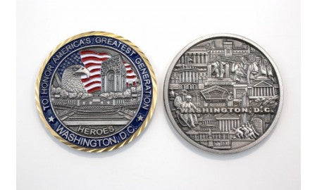 Washington D.C  Coin : SKU : 161