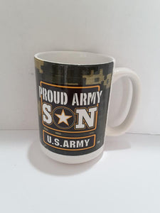 Mug  Proud Army Son