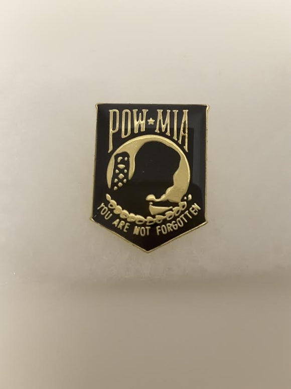 PIN  Pow Mia Not forgotten