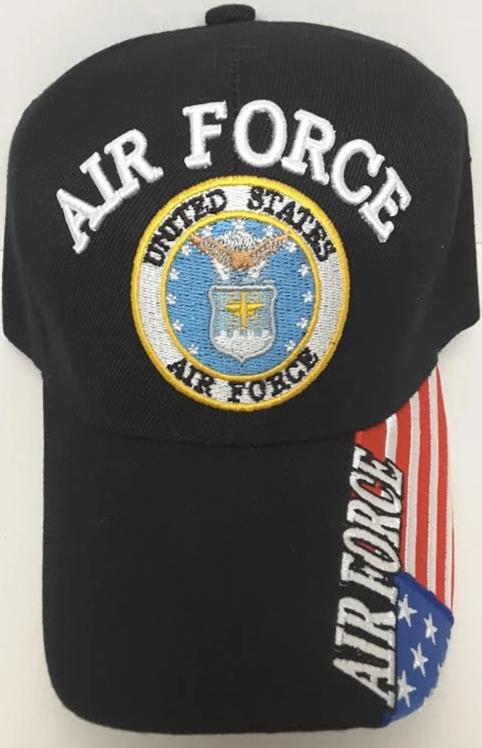 Air Force Blue Circle Hat