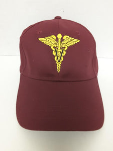 Veterinary Maroon Hat