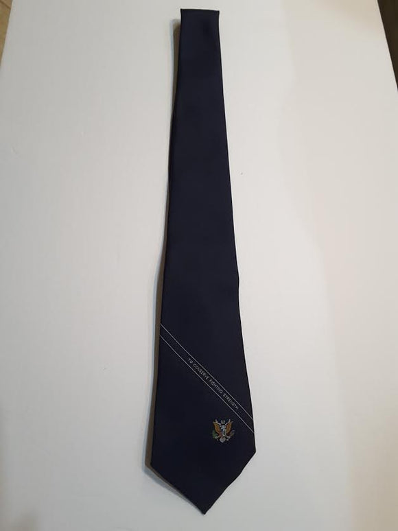 Tie  Regimental Navy Blue